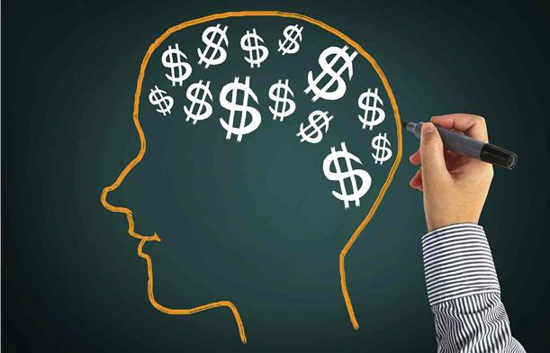 uma imagem sobre pensar como os milionários