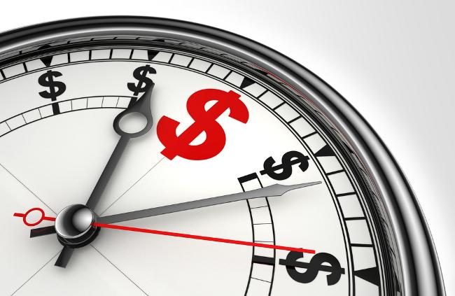 uma imagem sobre hora de investir