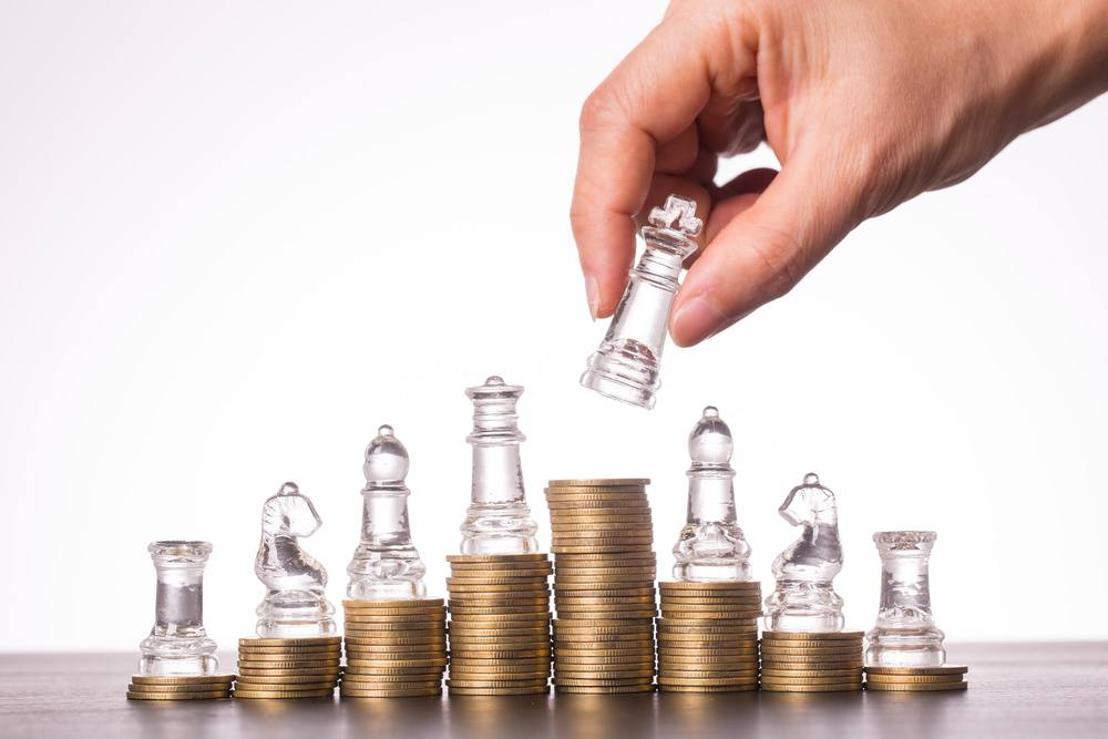 uma imagem sobre estratégia de investimento