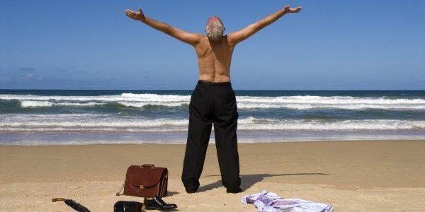 uma imagem sobre aproveitar a aposentadoria