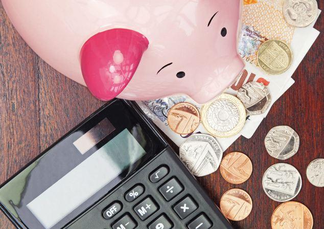 uma imagem sobre economizar